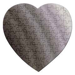 Fractal Background With Grey Ripples Jigsaw Puzzle (heart) by Simbadda