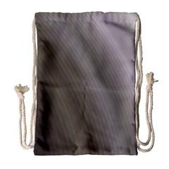 Fractal Background With Grey Ripples Drawstring Bag (large) by Simbadda
