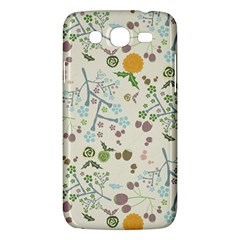 Floral Kraft Seamless Pattern Samsung Galaxy Mega 5 8 I9152 Hardshell Case  by Simbadda