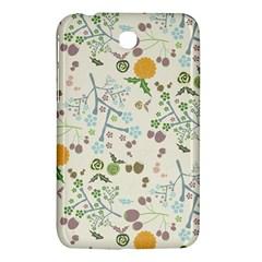 Floral Kraft Seamless Pattern Samsung Galaxy Tab 3 (7 ) P3200 Hardshell Case  by Simbadda