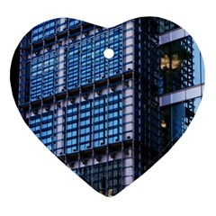 Modern Business Architecture Ornament (heart) by Simbadda