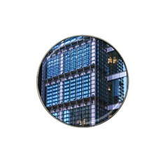 Modern Business Architecture Hat Clip Ball Marker (4 Pack) by Simbadda