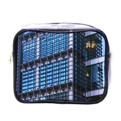 Modern Business Architecture Mini Toiletries Bags by Simbadda