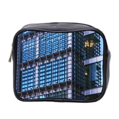 Modern Business Architecture Mini Toiletries Bag 2 Side by Simbadda
