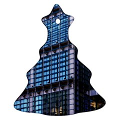 Modern Business Architecture Christmas Tree Ornament (two Sides) by Simbadda