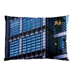 Modern Business Architecture Pillow Case (two Sides) by Simbadda