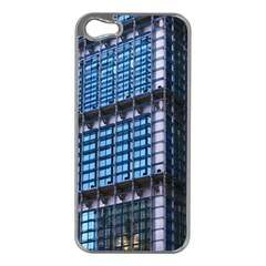 Modern Business Architecture Apple Iphone 5 Case (silver) by Simbadda