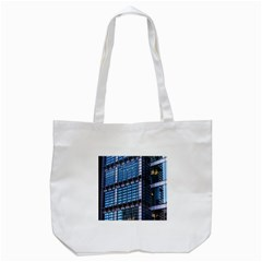 Modern Business Architecture Tote Bag (white) by Simbadda