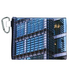 Modern Business Architecture Canvas Cosmetic Bag (xl) by Simbadda