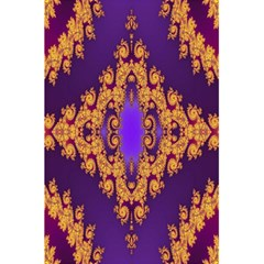 Something Different Fractal In Orange And Blue 5 5  X 8 5  Notebooks