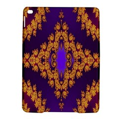 Something Different Fractal In Orange And Blue Ipad Air 2 Hardshell Cases by Simbadda