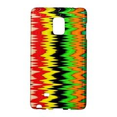 Colorful Liquid Zigzag Stripes Background Wallpaper Galaxy Note Edge by Simbadda