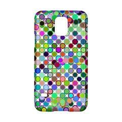 Colorful Dots Balls On White Background Samsung Galaxy S5 Hardshell Case  by Simbadda