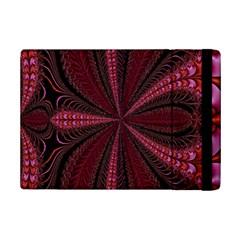 Red Ribbon Effect Newtonian Fractal Ipad Mini 2 Flip Cases by Simbadda