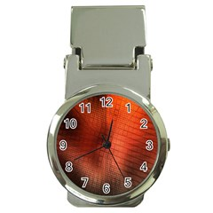 Background Technical Design With Orange Colors And Details Money Clip Watches by Simbadda