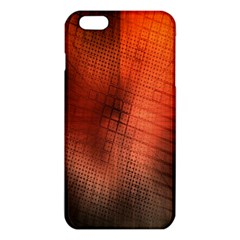Background Technical Design With Orange Colors And Details Iphone 6 Plus/6s Plus Tpu Case by Simbadda
