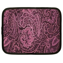 Abstract Purple Background Natural Motive Netbook Case (xxl)  by Simbadda