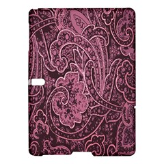 Abstract Purple Background Natural Motive Samsung Galaxy Tab S (10 5 ) Hardshell Case  by Simbadda