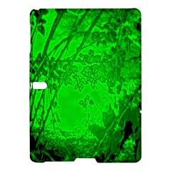 Leaf Outline Abstract Samsung Galaxy Tab S (10 5 ) Hardshell Case  by Simbadda