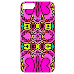 Colourful Abstract Background Design Pattern Apple Iphone 5 Classic Hardshell Case by Simbadda