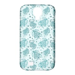 Decorative Floral Paisley Pattern Samsung Galaxy S4 Classic Hardshell Case (pc+silicone) by TastefulDesigns