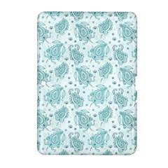 Decorative Floral Paisley Pattern Samsung Galaxy Tab 2 (10 1 ) P5100 Hardshell Case  by TastefulDesigns
