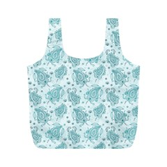 Decorative Floral Paisley Pattern Full Print Recycle Bags (m)  by TastefulDesigns