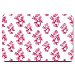 Santa Rita Flowers Pattern Large Doormat  by dflcprints