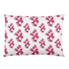 Santa Rita Flowers Pattern Pillow Case by dflcprints