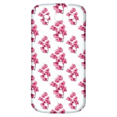 Santa Rita Flowers Pattern Samsung Galaxy S3 S Iii Classic Hardshell Back Case by dflcprints
