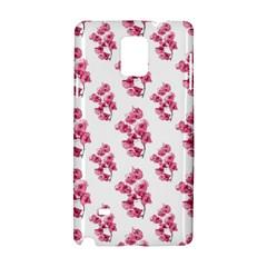 Santa Rita Flowers Pattern Samsung Galaxy Note 4 Hardshell Case by dflcprints