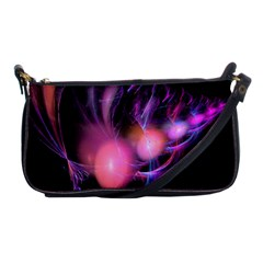 Fractal Image Of Pink Balls Whooshing Into The Distance Shoulder Clutch Bags by Simbadda