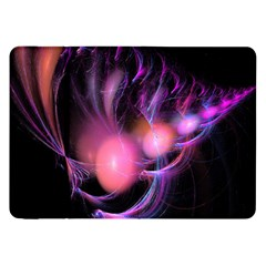 Fractal Image Of Pink Balls Whooshing Into The Distance Samsung Galaxy Tab 8 9  P7300 Flip Case by Simbadda