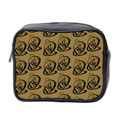 Art Abstract Artistic Seamless Background Mini Toiletries Bag 2 Side by Simbadda