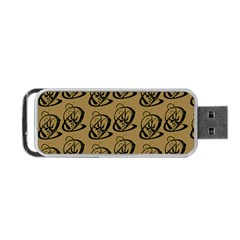 Art Abstract Artistic Seamless Background Portable Usb Flash (one Side) by Simbadda