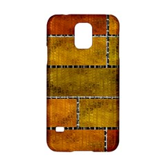 Classic Color Bricks Gradient Wall Samsung Galaxy S5 Hardshell Case  by Simbadda