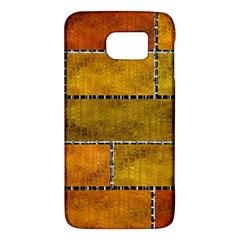 Classic Color Bricks Gradient Wall Galaxy S6 by Simbadda