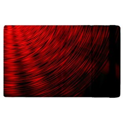 A Large Background With A Burst Design And Lots Of Details Apple Ipad 3/4 Flip Case by Simbadda