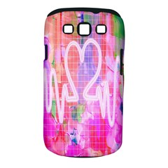 Watercolour Heartbeat Monitor Samsung Galaxy S Iii Classic Hardshell Case (pc+silicone) by Simbadda