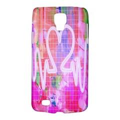 Watercolour Heartbeat Monitor Galaxy S4 Active by Simbadda