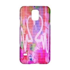 Watercolour Heartbeat Monitor Samsung Galaxy S5 Hardshell Case  by Simbadda