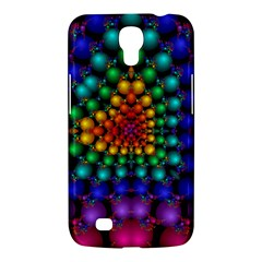 Mirror Fractal Balls On Black Background Samsung Galaxy Mega 6.3  I9200 Hardshell Case