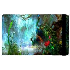 Beautiful Peacock Colorful Apple Ipad 3/4 Flip Case by Simbadda