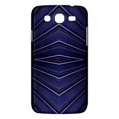 Blue Metal Abstract Alternative Version Samsung Galaxy Mega 5 8 I9152 Hardshell Case  by Simbadda