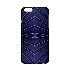 Blue Metal Abstract Alternative Version Apple Iphone 6/6s Hardshell Case by Simbadda