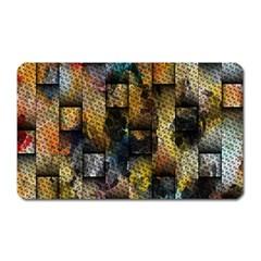 Fabric Weave Magnet (rectangular) by Simbadda