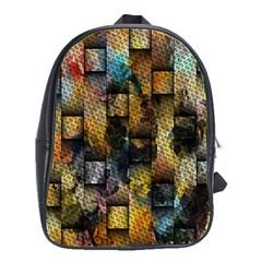 Fabric Weave School Bags(large)  by Simbadda