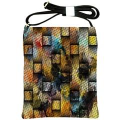 Fabric Weave Shoulder Sling Bags by Simbadda