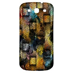 Fabric Weave Samsung Galaxy S3 S Iii Classic Hardshell Back Case by Simbadda
