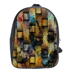 Fabric Weave School Bags (xl)  by Simbadda